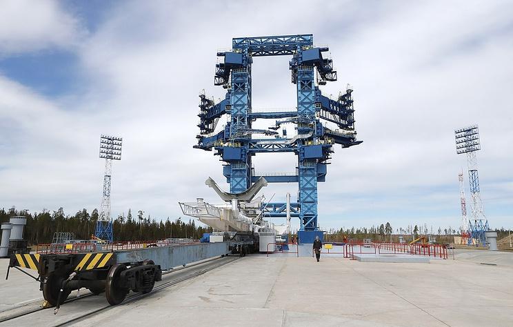 The Plesetsk spaceport