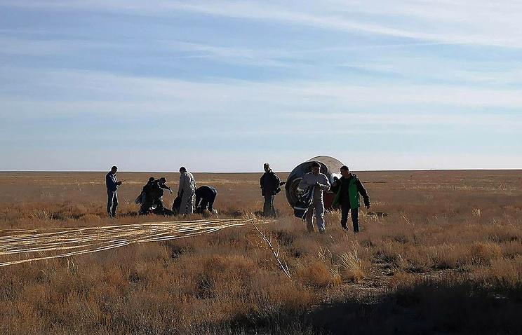 Emergency landing of Soyuz MS-10 spacecraft in Kazakhstan