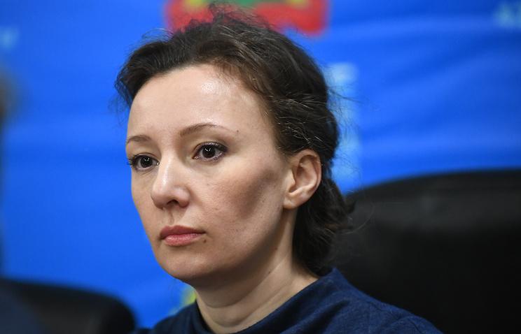 Russian Presidential Commissioner for Children's Rights Anna Kuznetsova