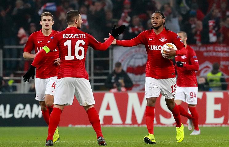 Spartak footballers