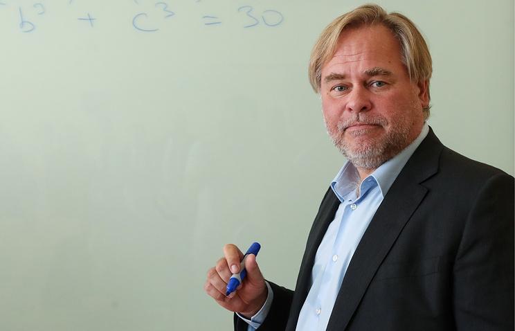 Russia's Kaspersky Lab CEO and Chairman Eugene Kaspersky