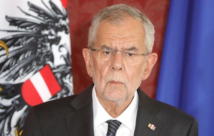 Austria's President Alexander Van der Bellen