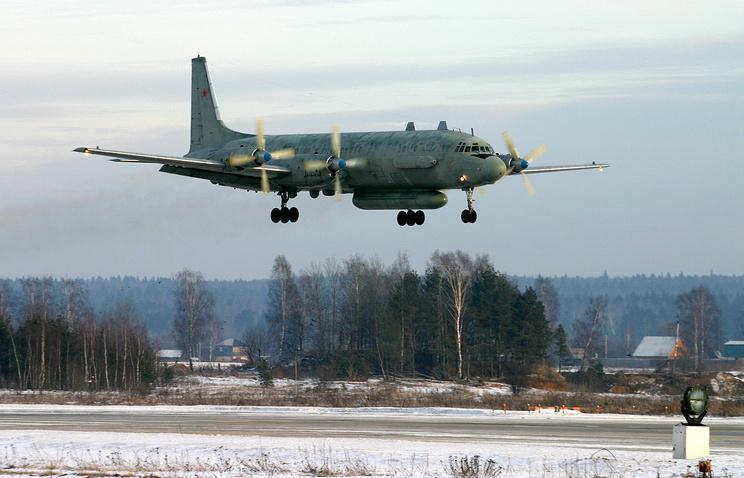 Ilyushin-20 plane