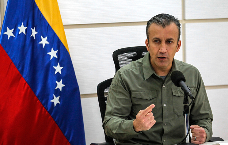 Venezuelan Minister of Industries and National Production Tarek El Aissami
