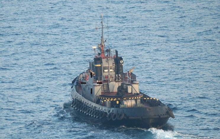 Tiga Kapal AL Ukraina Ditahan Russia