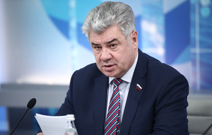 Chairman of the Russian Federation Council's Defense and Security Committee Viktor Bondarev