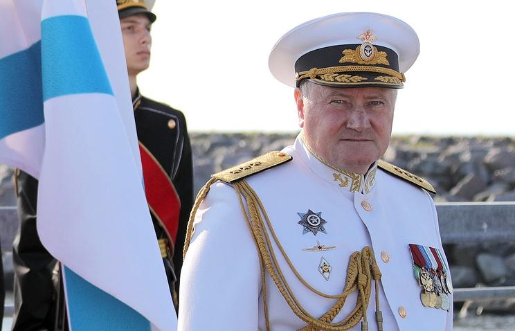 Russian Navy Commander Adm. Vladimir Korolev