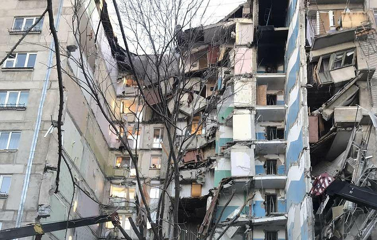 Baby found alive in rubble of collapsed Russian apartment building