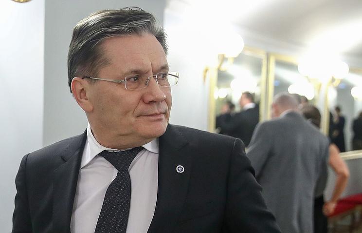 Rosatom CEO Alexei Likhachev