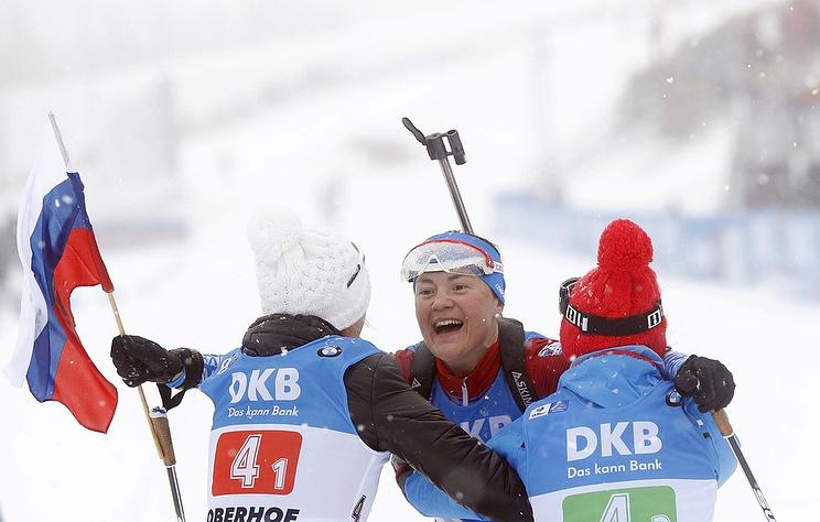 Evgeniya Pavlova, Ekaterina Yurlova-Percht and Larisa Kuklina
