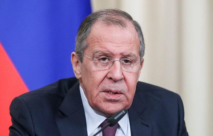 Lavrov: US policy aimed at...