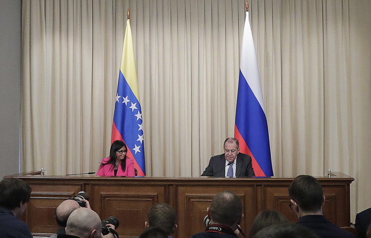 Venezuelan vice president visits Moscow to rally support