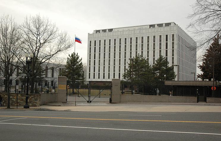 The Russian Embassy in Washington D.C.