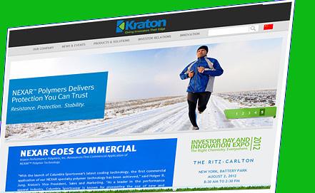 Screenshot  www.kraton.com