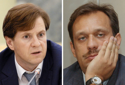 Andrei Borodin (left) and Dmitry Akulinin (right). Photo ITAR-TASS