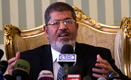 Mohammed Mursi, EPA/ITAR-TASS