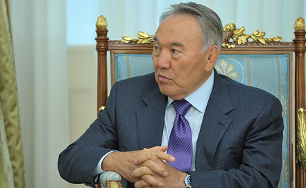 Nursultan Nazarbayev, Photo ITAR-TASS