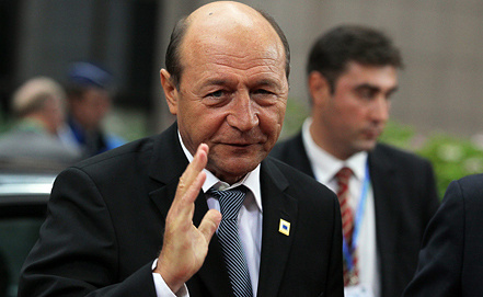 Traian Basescu, Photo ITAR-TASS