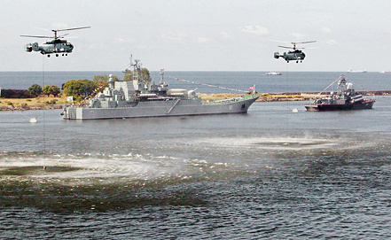 Large landing ship Minsk, photo ITAR-TASS/ Igor Zarembo
