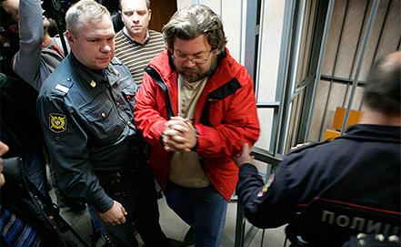 Greenpeace activist Roman Dolgov. Photo EPA/IGOR PODGORNY / GREENPEACE