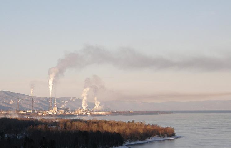 Baikal paper mill