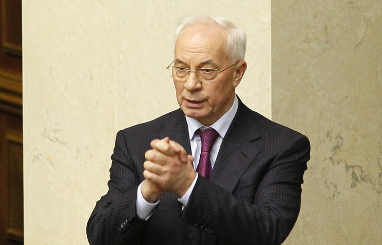 Ukrainian Prime Minister Nikolay Azarov