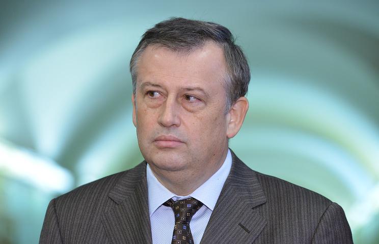Губернатор Ленинградской области Александр Дрозденко.
