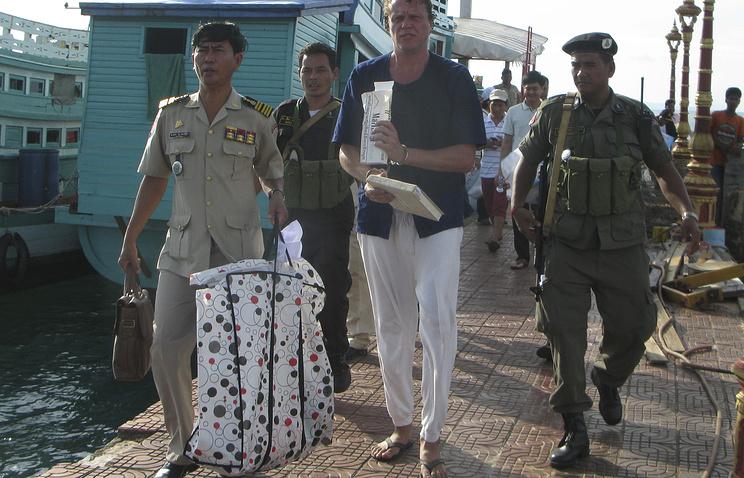 Полиция Камбоджи арестовала Сергея Полонского