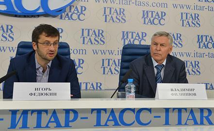 Игорь Федюкин и Владимир Филиппов. Фото ИТАР-ТАСС