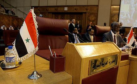 Конференция участников Лиги арабских государств в Каире. Фото AP Photo/Amr Nabil