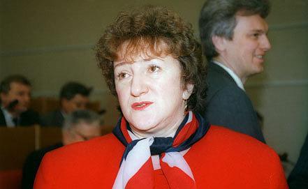 Галина Старовойтова, 1996. Фото ИТАР-ТАСС/Николай Малышев
