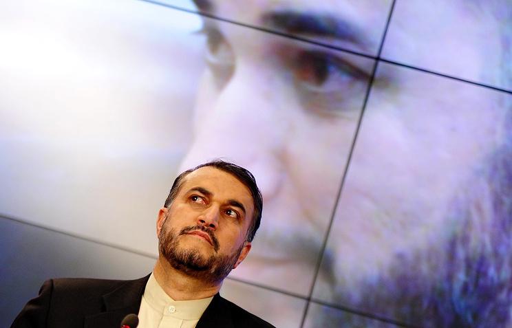 Заместитель министра иностранных дел Ирана Хосейн Амир Абдоллахиян