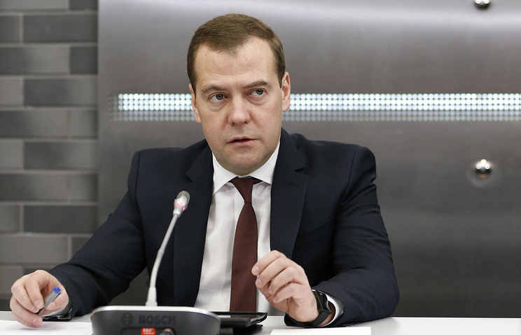 Премьер-министр России Дмитрий Медведев.