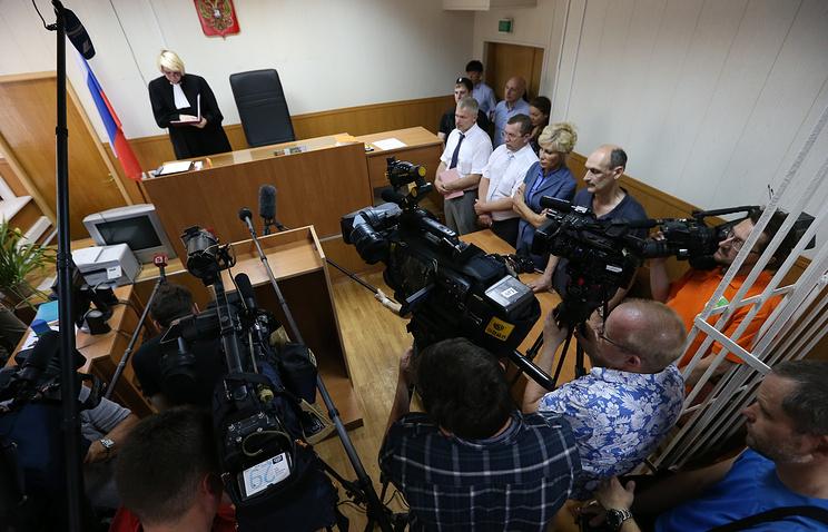 Во время оглашения приговора Ольге Александриной, погибшей в ДТП на Ленинском проспекте