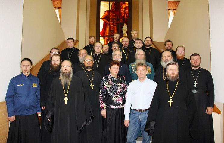 Во время сбора военных священников в Новосибирском гарнизоне