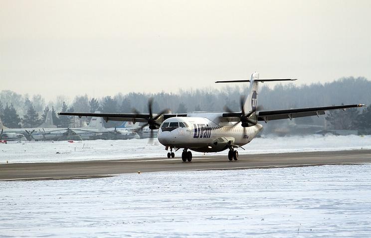 Самолет ATR-72 авиакомпании UTair
