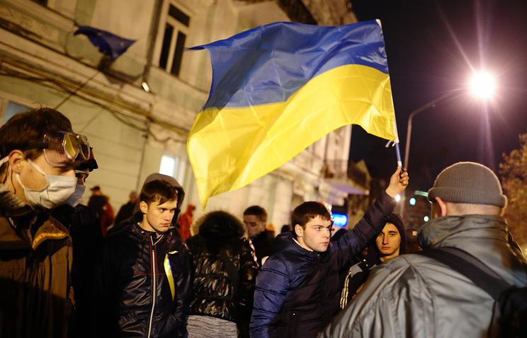 Акции сторонников евроинтеграции в Киеве, 30 ноября