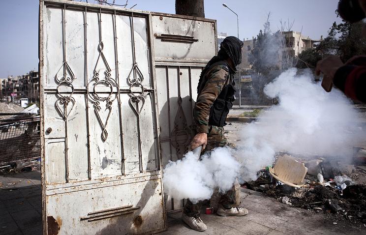 Вооруженные столкновения в сирийском городе Алеппо