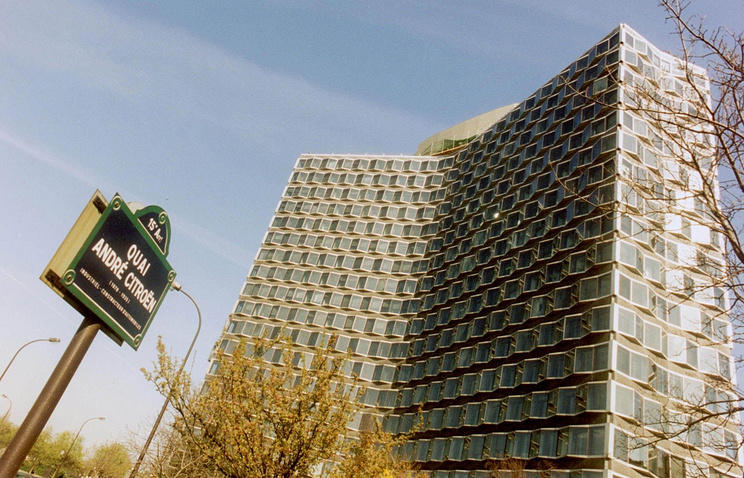 Здание Высшего совета аудиовизуальных средств Франции в Париже