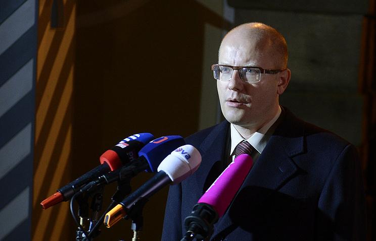 Лидер Чешской социал-демократической партии Богуслав Соботка