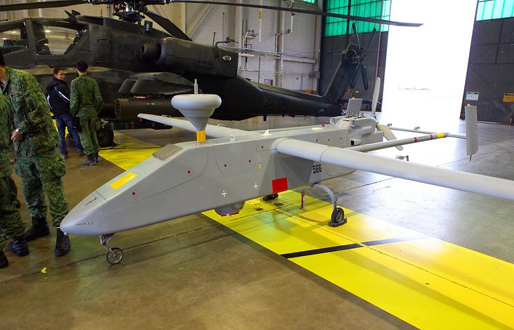 Беспилотный летательный аппарат Searcher II