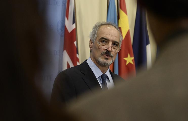 Представитель Сирии при ООН Башар Джаафари