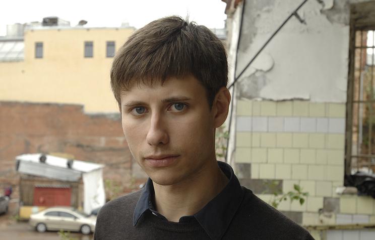Председатель Российского студенческого союза Артем Хромов