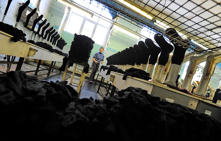 Производство носков для армии