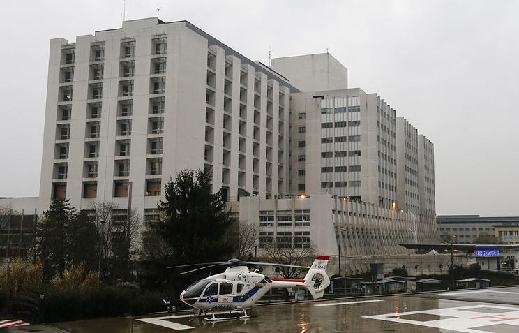 Больница в Гренобле, где проходит лечение Михаэль Шумахер