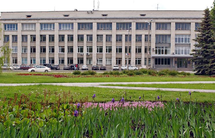 Здание Президиума СО РАН в Академгородке