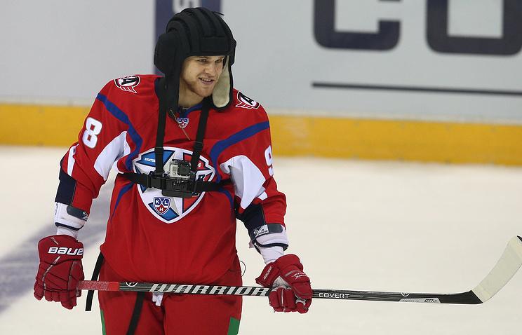 Хоккеист Федор Малыхин