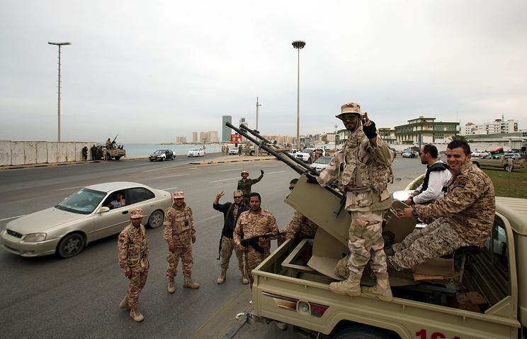 Ливийские солдаты