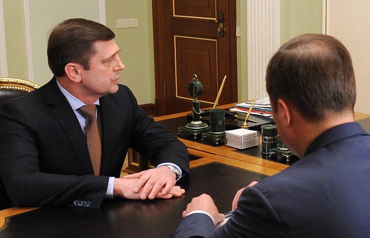 Руководитель Роскосмоса Олег Остапенко