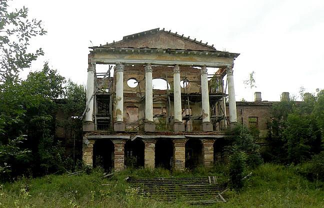Ропшинский дворец.2012 г.
